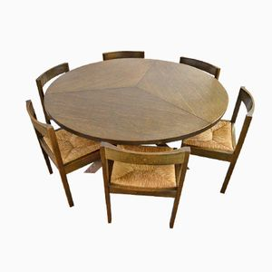Vintage Dining Table & Chairs by Martin Visser for 't Spectrum