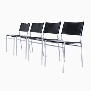 Mid-Century SE-06 Dining Chairs by Martin Visser for Spectrum, Set of 4