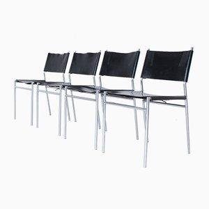 Mid-Century SE-06 Esszimmerstühle von Martin Visser für Spectrum, 4er Set