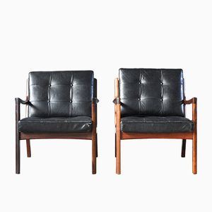 Rosewood Senator Chairs by Ole Wanscher for France & Søn, Set of 2