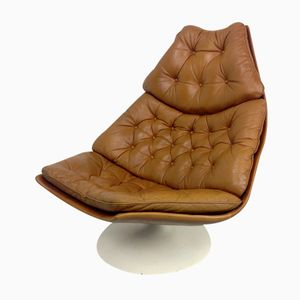 Dutch F588 Lounge Chair by Geoffrey D. Harcourt for Artifort, 1974