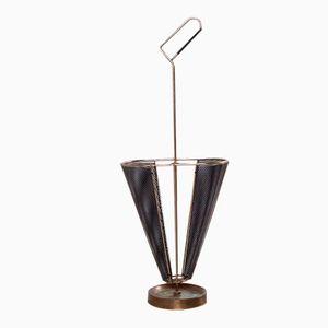 Brass Umbrella Stand, 1950s