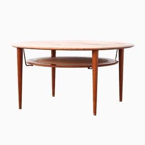 Danish Coffee Table by Peter Hvidt & Orla Mølgaard Nielsen for France & Son, 1960