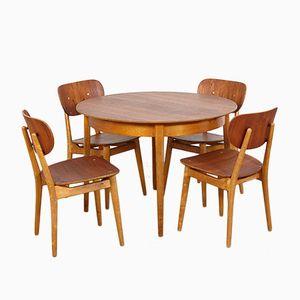 Birch & Teak Dining Set by Cees Braakman for Pastoe, 1950s