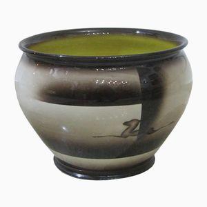 Große Keramikvase von Galvani, 1950er
