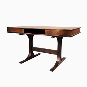 Rosewood Desk by Gianfranco Frattini for Bernini, 1957