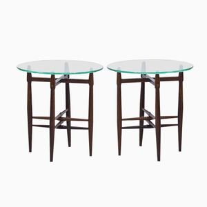 Palisander Side Tables by Poul Hundevad for Vamdrup, 1950s, Set of 2