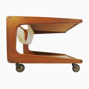 Vintage Teak Serving Trolley from Sika Møbler
