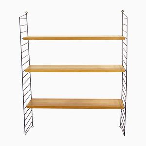 Swedish Laddered Wall Unit Shelf by Nisse Strinning for String, 1960s