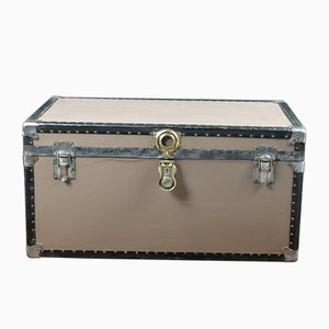 Taupe Colored Trunk from Overland, 1940s