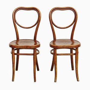 Chaises de Salon de Thonet, 1920s, Set de 2