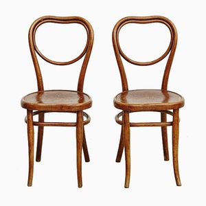 Dining Chairs from Thonet, 1920s, Set of 2