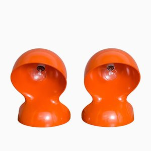 Dalu Lamps by Vico Magistretti for Artemide, 1970s, Set of 2