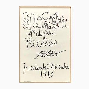 Poster d'Exposition par Pablo Picasso, 1960