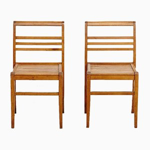 Vintage Chairs by Rene Gabriel, Set of 2