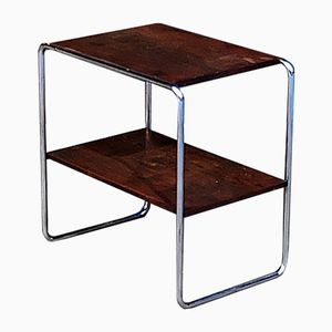 Vintage Czech Bauhaus Side Table