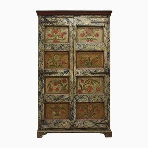 18th Century Spanish Painted Cupboard