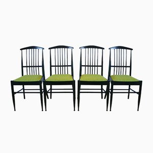 Vintage Charlotte Dining Chairs by Kerstin Hörlin-Holmquist for Asko, Set of 4