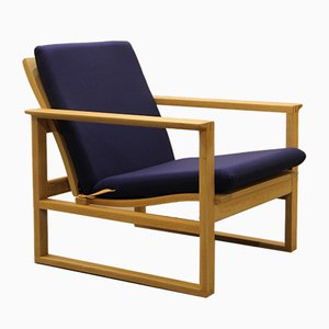 Mid-Century BM 2256 Lounge Chair by Børge Mogensen for Fredericia