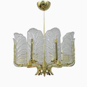 Große Schwedische Lampe von Carl Fagerlund für Orrefors, 1960er