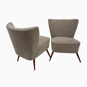 Mid-Century Cocktail Chairs, Set of 2