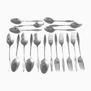 Dänisches Silberwaren Set von Frigast, 1960er