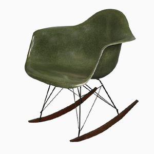 Fauteuil RAR Vert Forêt par Charles & Ray Eames pour Herman Miller, 1960s