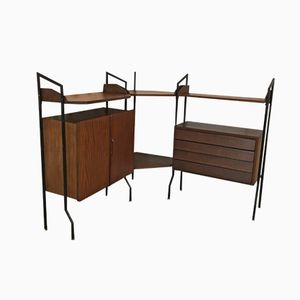 Italian Modular Corner Cabinet, 1960s