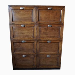 French Oak Filing Cabinet, 1930s
