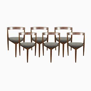 Mid-Century Stühle von Hans Olsen für Frem Røjle, 6er Set