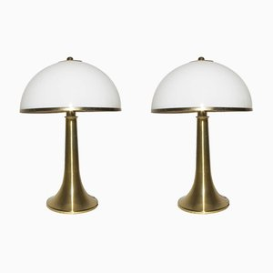 Tischlampen von Gabriella Crespi, 1970er, 2er Set
