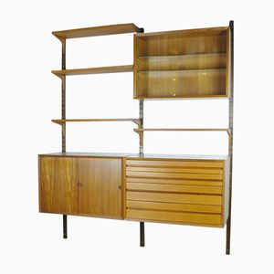 Danish Modern Teak Wall Unit by Poul Cadovius, 1960s