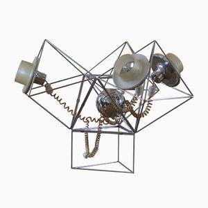 Vintage Poliedra Lampe von Felice Ragazzo für Guzzini