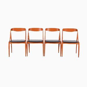 Scandinavian Dining Chairs by Johannes Andersen, 1960s, Set of 4