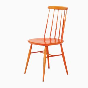 Orange Dining Chair, 1950s
