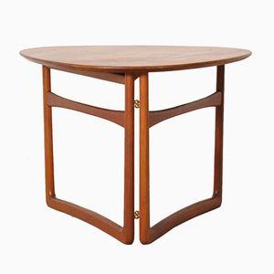 Folding Table by Peter Hvidt & Orla Mølgaard-Nielsen for France & Daverkosen, 1950s