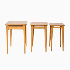 Scandinavian Nesting Tables, 1960s