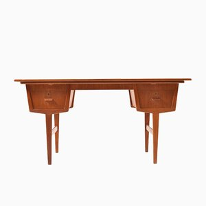 Mid-Century Danish Extendable Teak Desk