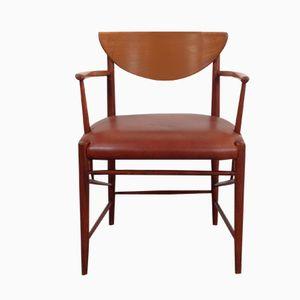 Teak Armchair by Peter Hvidt & Orla Molgaard-Nielsen for Søborg, 1950s