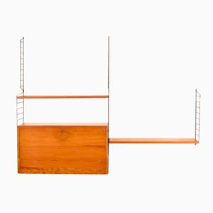 Vintage Wall Unit by Nisse Strinning