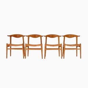 JH505 Chairs by Hans J. Wegner for Johannes Hansen, 1952, Set of 4