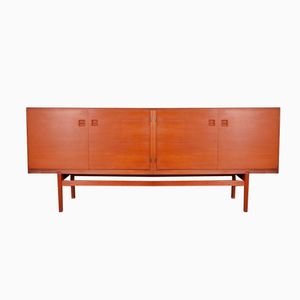 Danish Teak Sideboard by Poul Jessen for Viby, 1960s