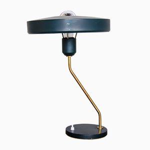 Messing Tischlampe von Louis Kalff für Philips, 1950er