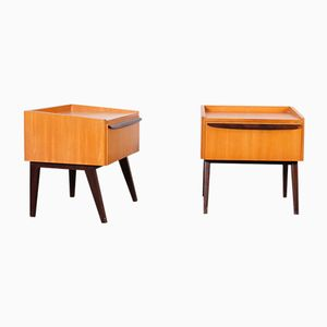 Night Stands from WK, 1950s, Set of 2