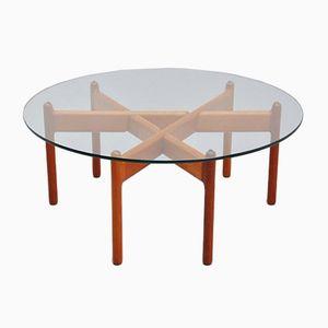 Danish Teak Coffee Table by Niels Bach, 1960s