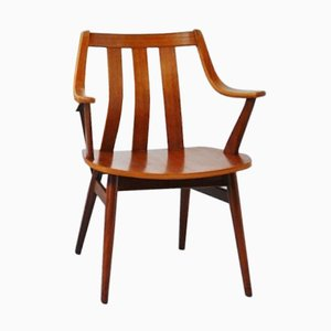 Dutch Teak Plywood Chair, 1960s