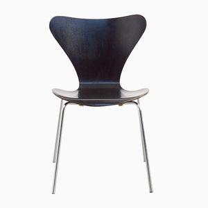 Schwarzer Butterfly Stuhl von Arne Jacobsen für Fritz Hansen, 1967