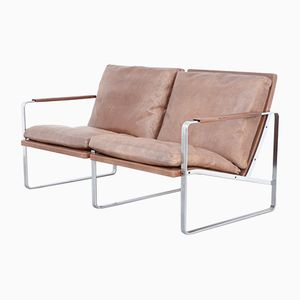 Two-Seater Sofa by Preben Fabricius & Jørgen Kastholm for Arnold Exclusiv, 1960s
