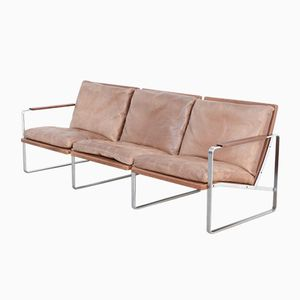Three-Seater Sofa by Preben Fabricius & Jørgen Kastholm for Arnold Exclusiv, 1960s