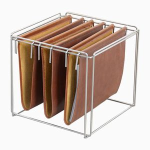 Cube Magazine Rack by Max Sauze, 1970s